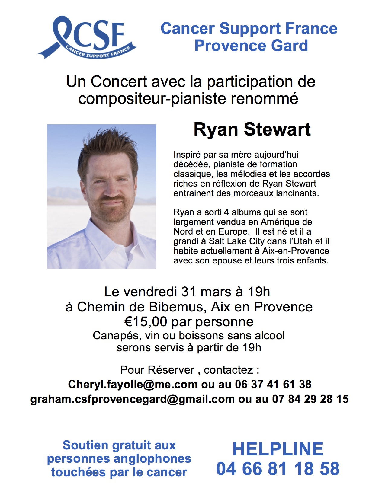 CSF CONCERT POSTER FRENCH